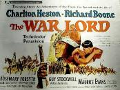 THE WAR LORD POSTER '65